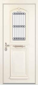 דלתות פנים יוקרה לבן