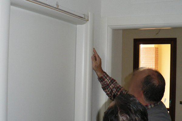 התקנת דלת פנים