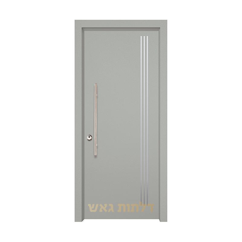 דלת שיק 3016 צבע 0096-אפור בהיר