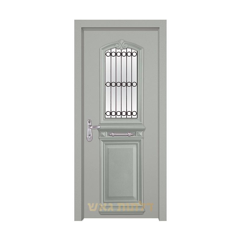 דלת מעוצבת 7001-1 צבע 0096-אפור בהיר