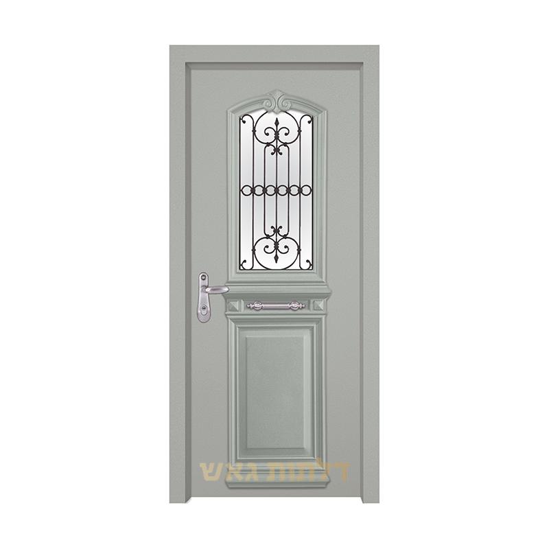 דלת מעוצבת 7001-3 צבע 0096-אפור בהיר