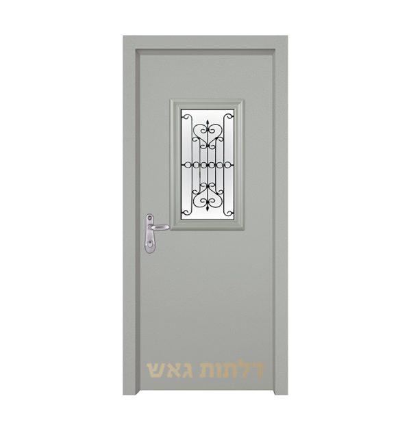 דלת מעוצבת 7004-2 צבע 0096-אפור בהיר