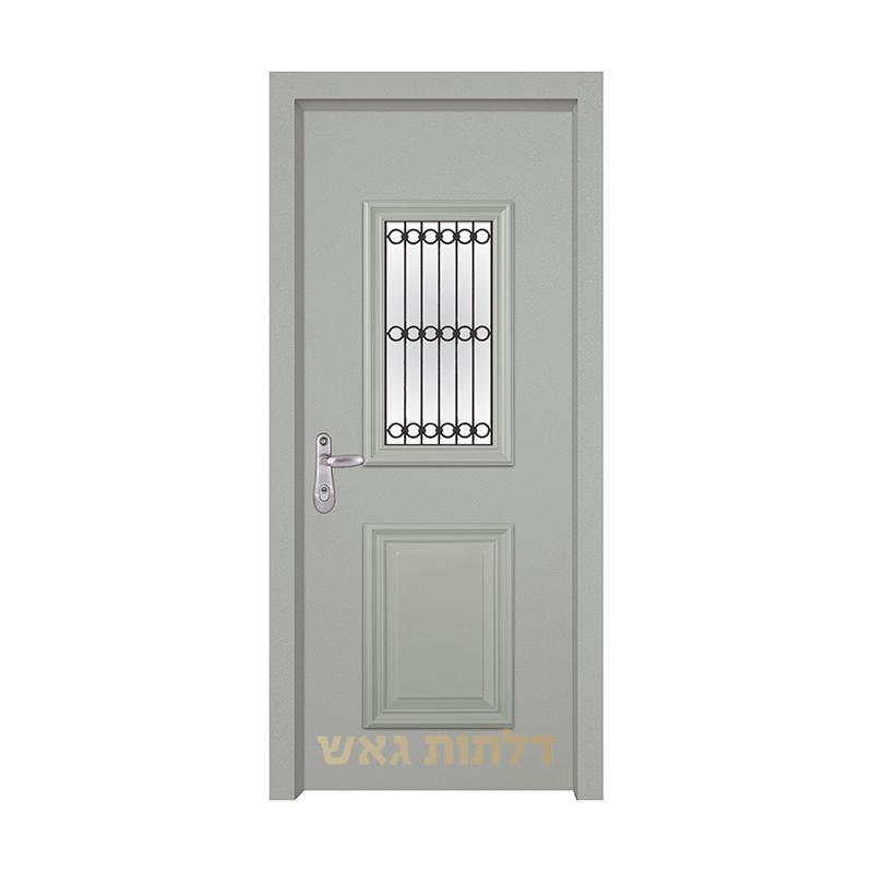 דלת מעוצבת 7008-1 צבע 0096-אפור בהיר