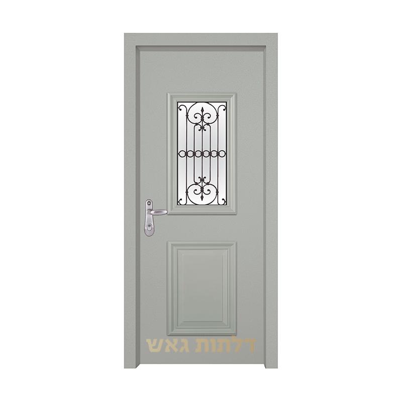 דלת מעוצבת 7008-3 צבע 0096-אפור בהיר