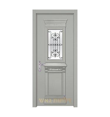 דלת מעוצבת 7014-2 צבע 0096-אפור בהיר