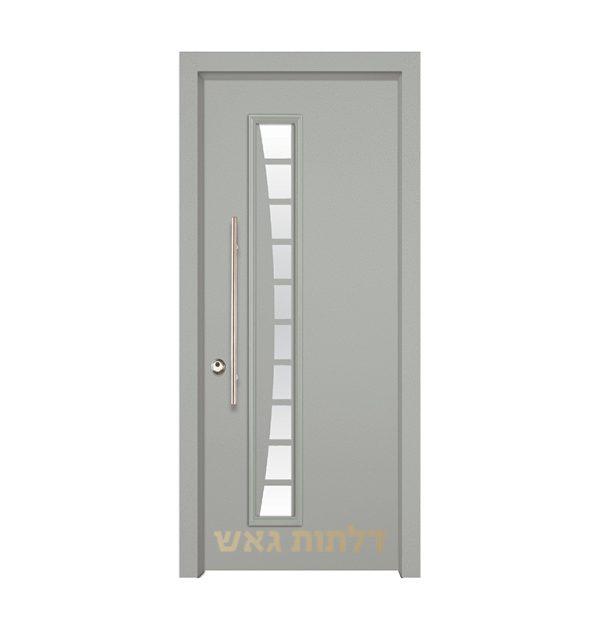 דלת מעוצבת 7030 צבע 0096-אפור בהיר