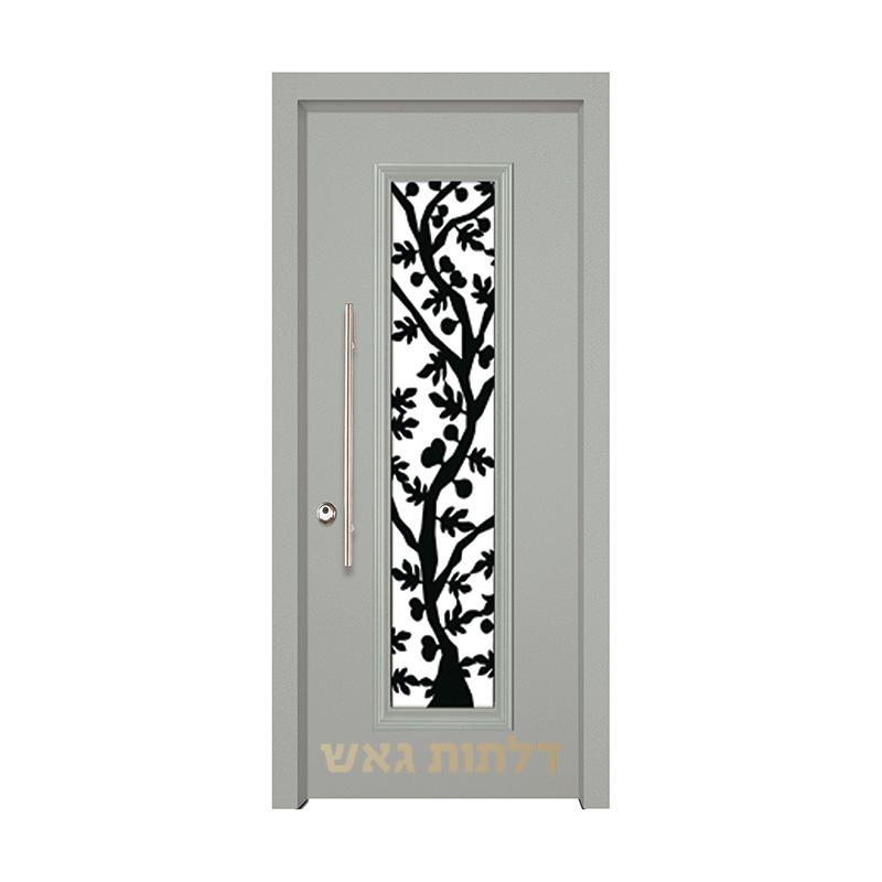 דלת מעוצבת 7050-13 צבע 0096-אפור בהיר
