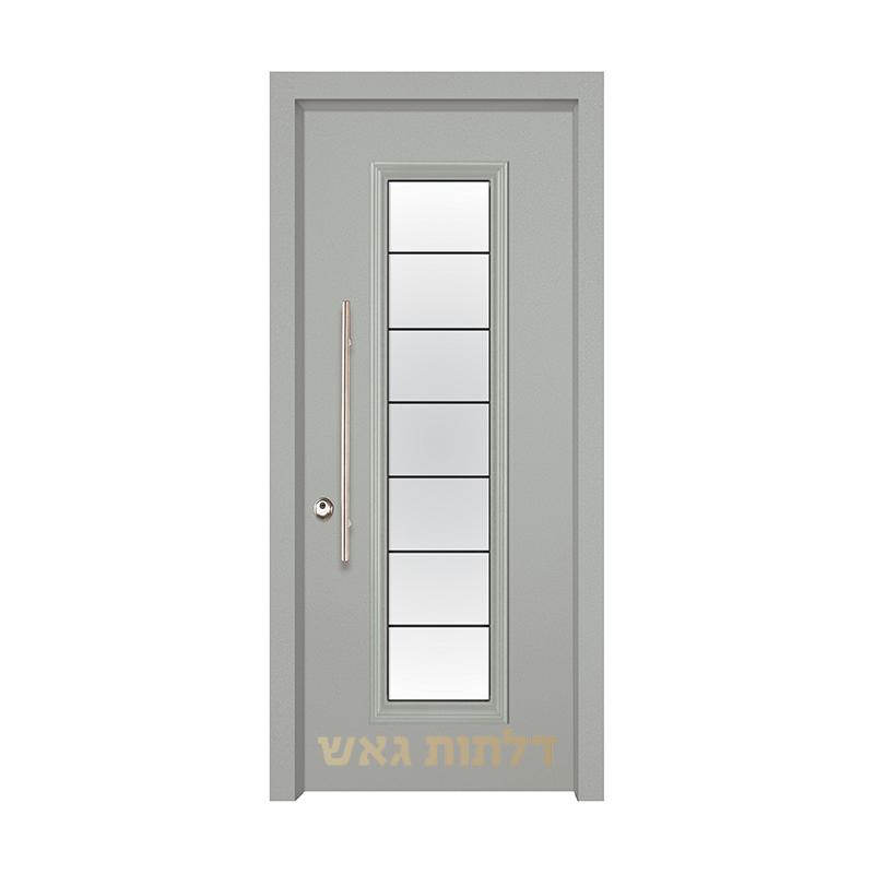 דלת מעוצבת 7050-19 צבע 0096-אפור בהיר