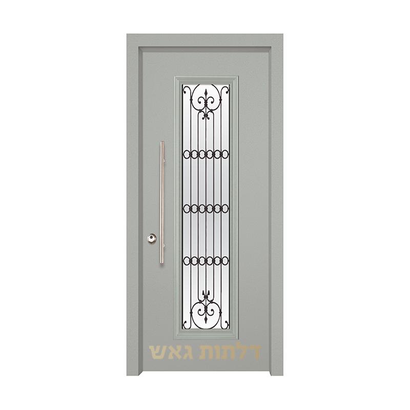 דלת מעוצבת 7050-21 צבע 0096-אפור בהיר
