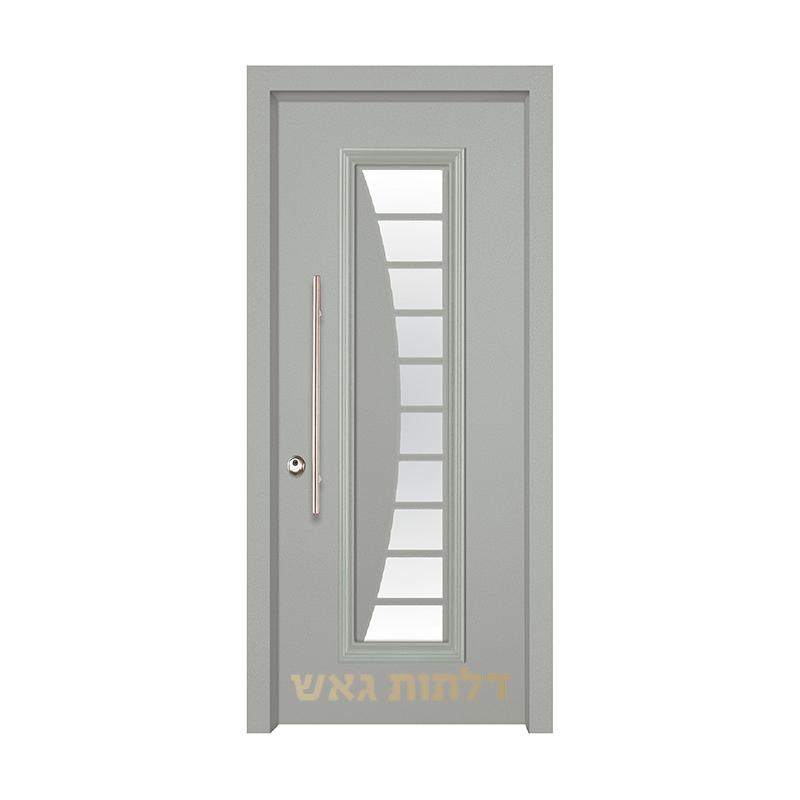 דלת מעוצבת 7050-22 צבע 0096-אפור בהיר