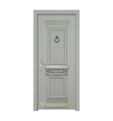 דלת כניסה מעוצבת 7059 צבע 0096-אפור בהיר
