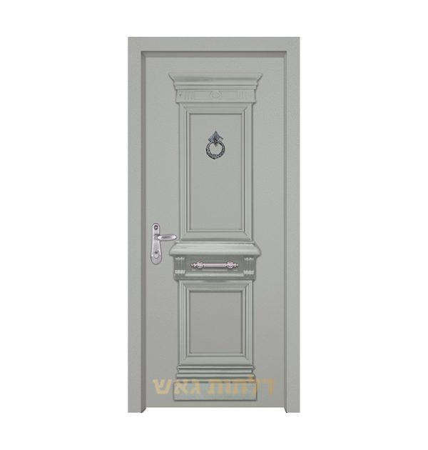 דלת מעוצבת 7059 צבע 0096-אפור בהיר