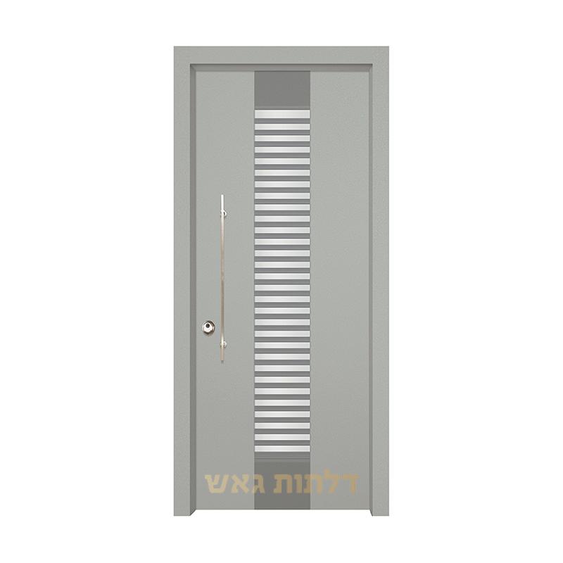 דלת מעוצבת 7071 צבע 0096-אפור בהיר