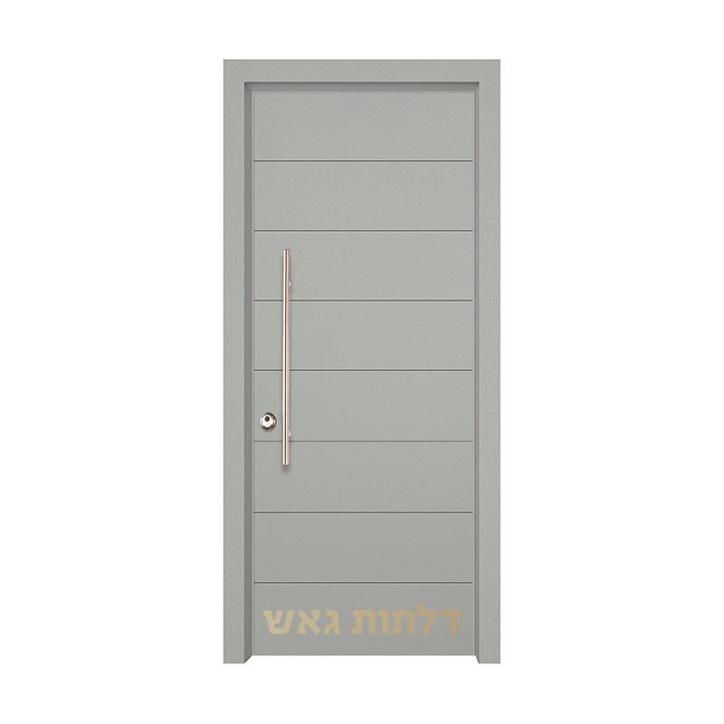 דלת הייטק 8002 צבע 0096-אפור בהיר