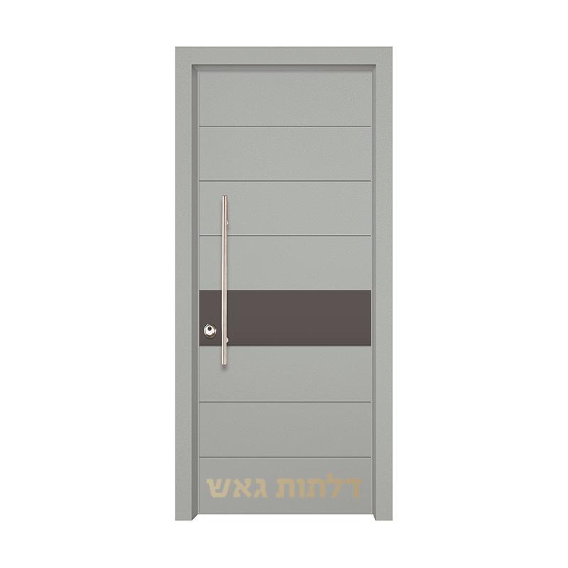 דלת הייטק 8004 צבע 0096-אפור בהיר