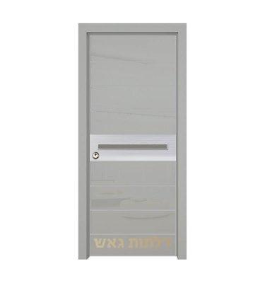 דלת כניסה היי-טק 8006 צבע 0096-אפור