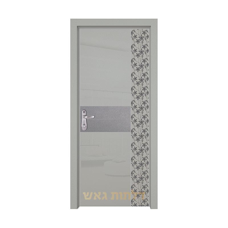 דלת כניסה היי-טק 8007B4 צבע 0096-אפור