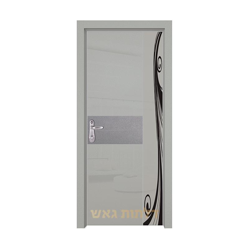 דלת כניסה היי-טק 8007B5 צבע 0096-אפור
