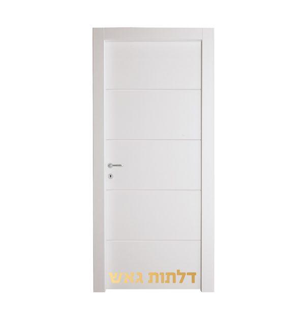 דלת ברברינו CIP צבע לבן בתנור