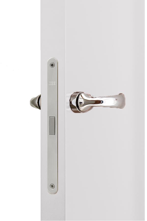 חתך המנעול בדלת נסתרת