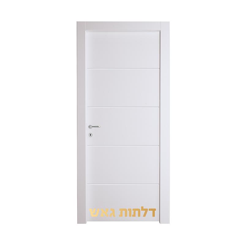 דלת וואטרפלוס CIP לבן