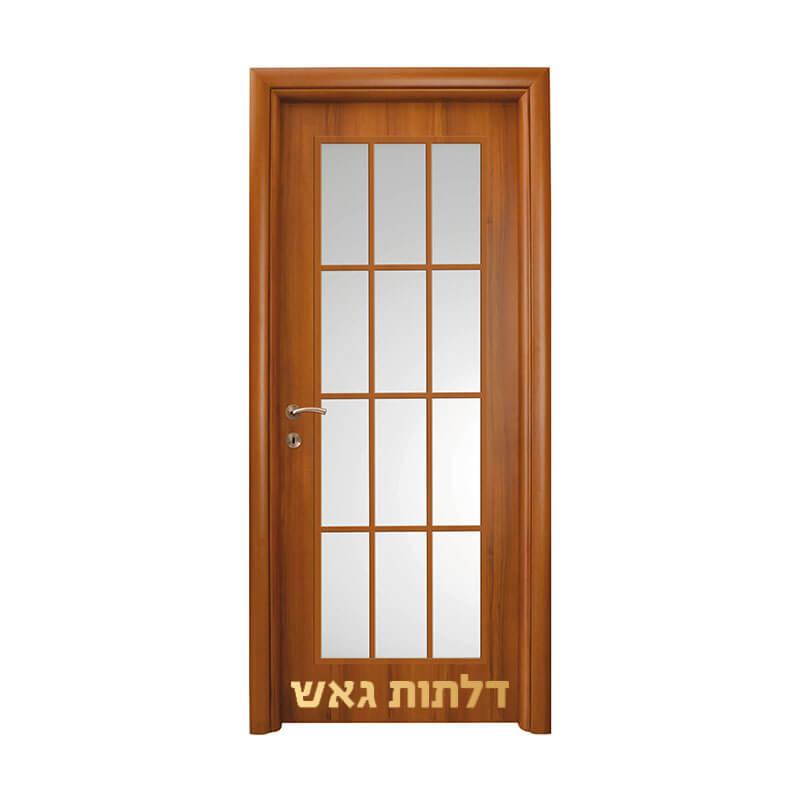דלתות פנים משקוף עגול אגוז חלון אנגלי