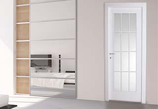 דלתות זכוכית - דלתות גאש