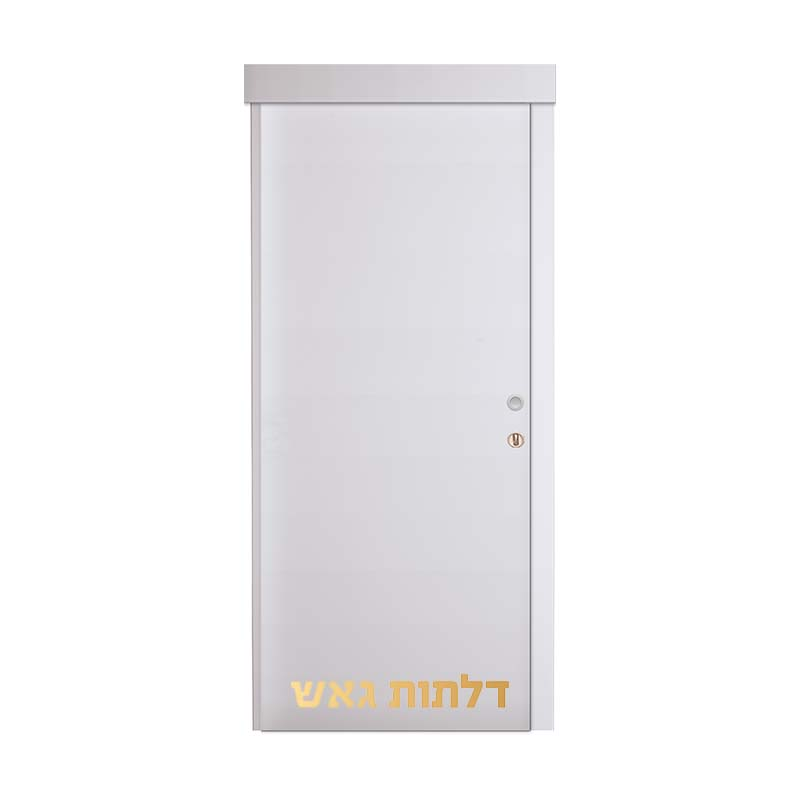 דלת הזזה על-הקיר OR לבן