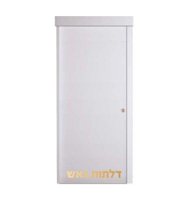 דלת הזזה על-הקיר P לבן